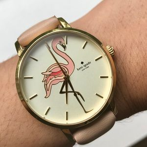 Kate Spade Flamingo Metro Watch